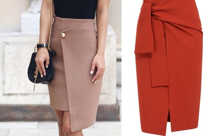 модные юбки из замши