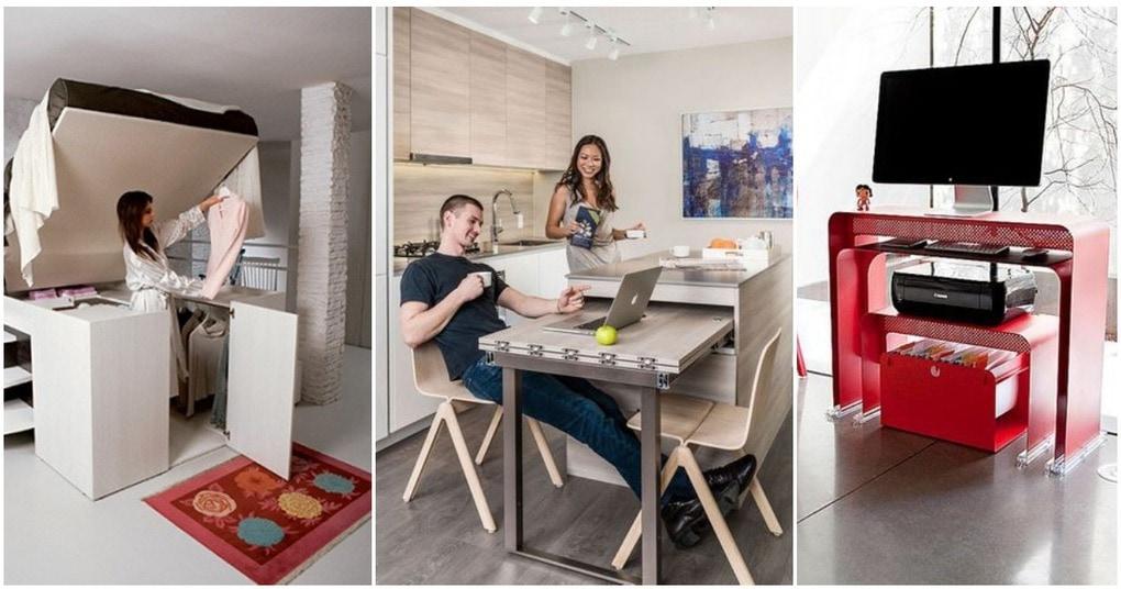 Умная мебель для маленькой квартиры