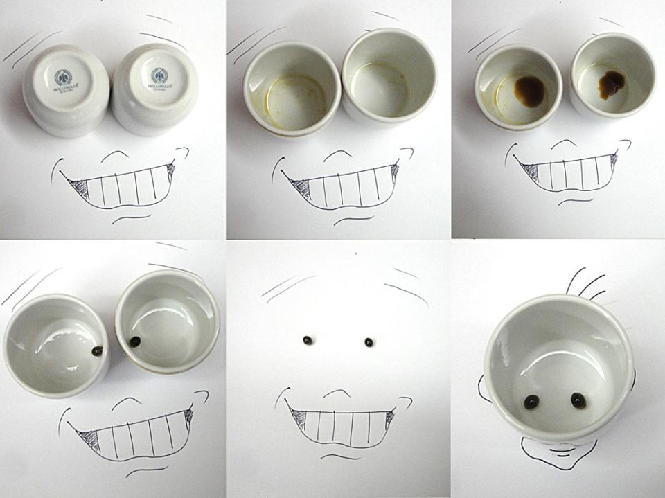 Виктор Нунес - Рисунки из чашек