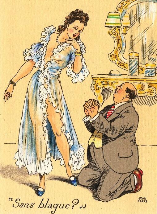 Мадам, я не могу на вас жениться...