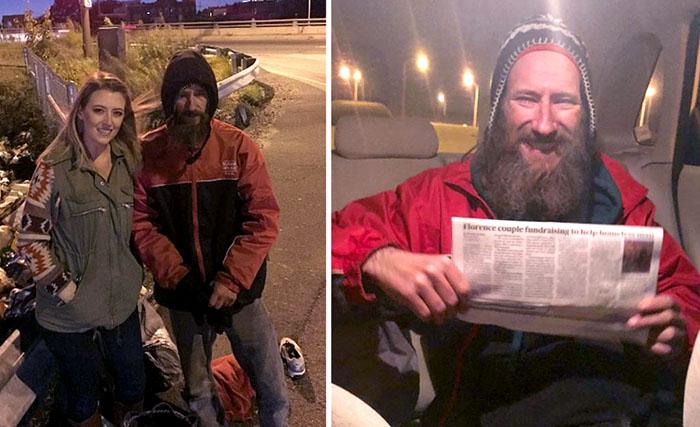 Бездомный отдал последние деньги, чтобы помочь девушке, а её благодарность изменила его жизнь