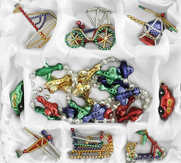 Самые прекрасные и необычные елочные игрушки в истории