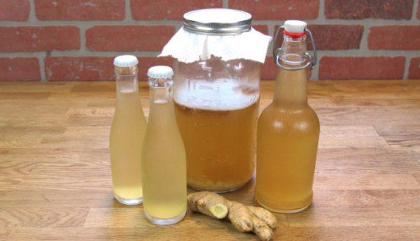Имбирная вода: самый здоровый напиток, чтобы сжечь все жир из талии, спины и бедер!
