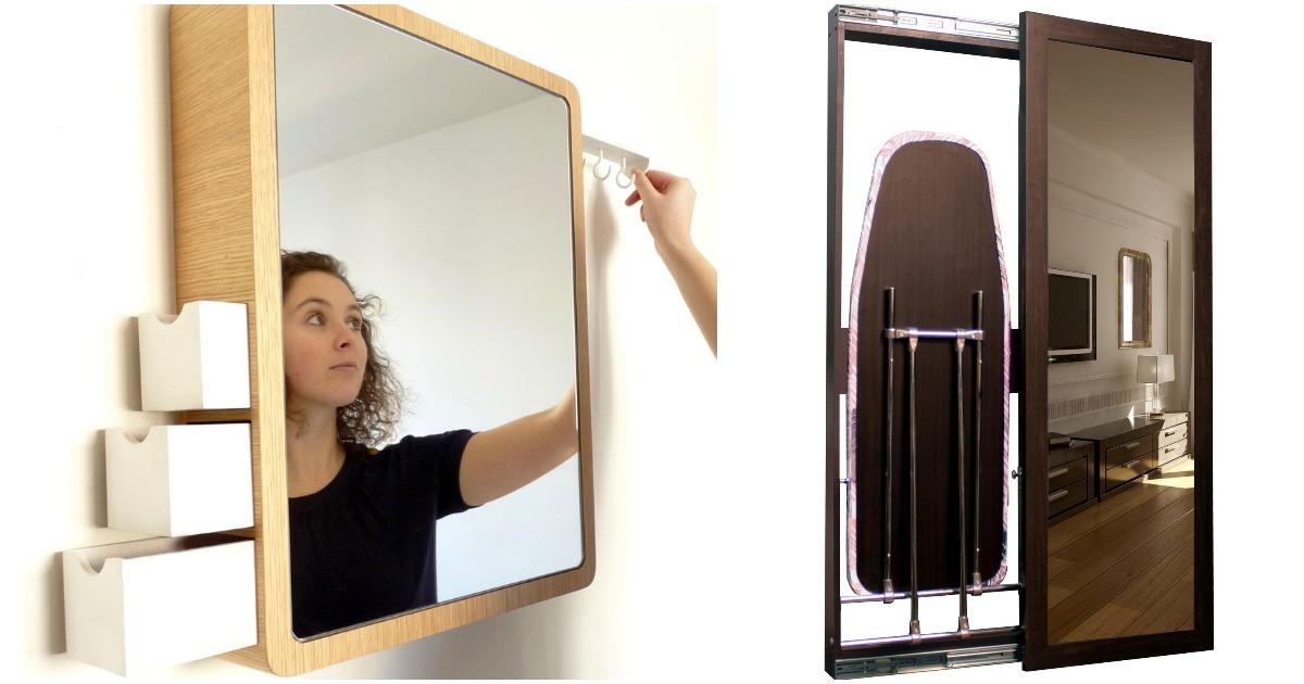 Зеркала с секретом: всегда стильно и удобно