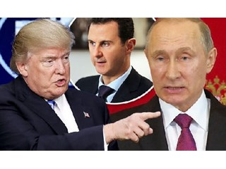Трамп накаляет обстановку и поднимает планку своего силового авторитета в Сирии, перед встречей с Путиным в Гамбурге