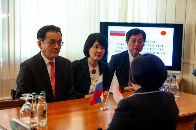 Приятное впечатление. Московский колледж посетил вице-министр Японии