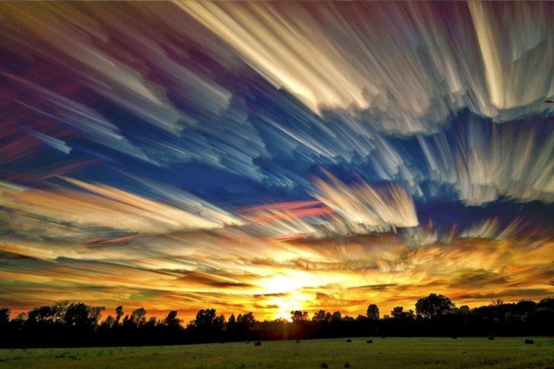 Smeared Skies 1 Размазанные небеса Мэтта Моллоя