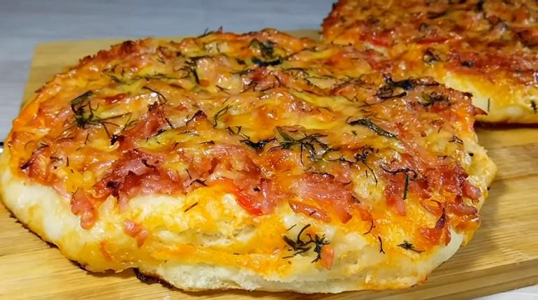 Вкусная мини-пицца для быстр…