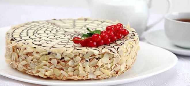 Ореховый торт «Эстерхази»
