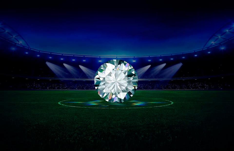 Алмазы для мундиаля: «футбольные» бриллианты «Алроса»