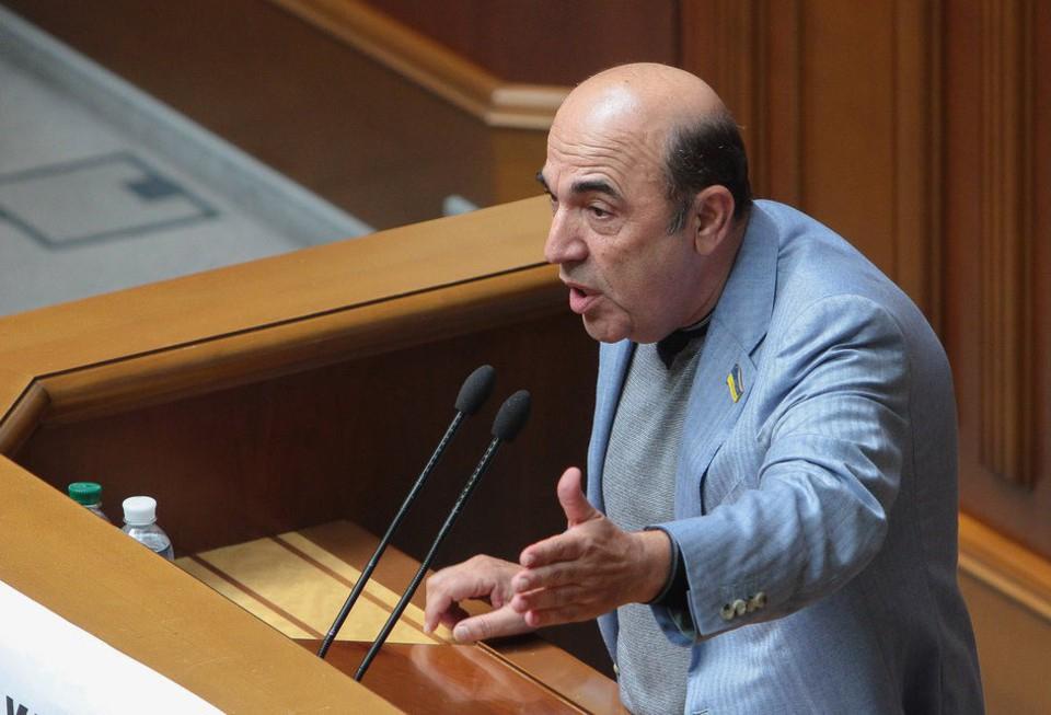 Депутат Верховной Рады назва…