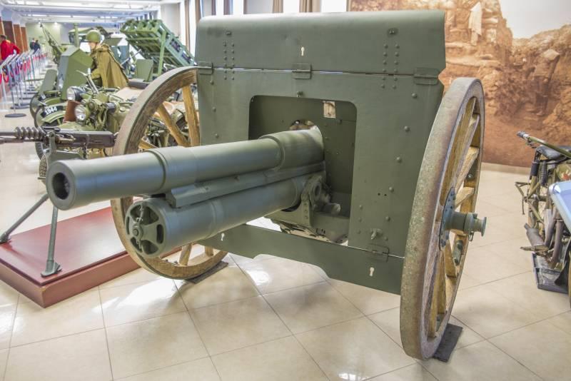 Рассказы об оружии. Дивизионная пушка образца 1902 года. Сексуальный детектив