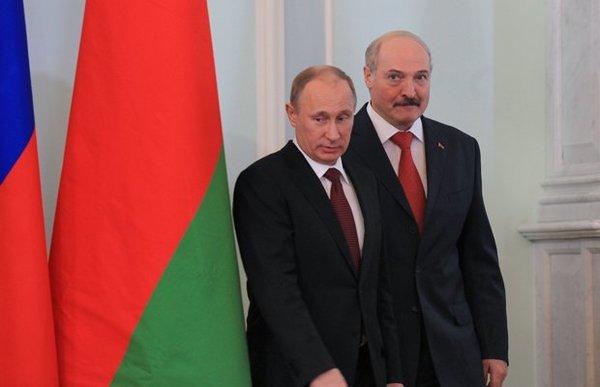 Путин и Лукашенко после переговоров выходят к прессе