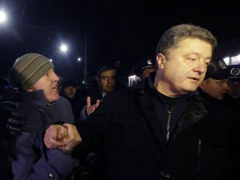 Стало известно о позорном бегстве Порошенко из Крыма