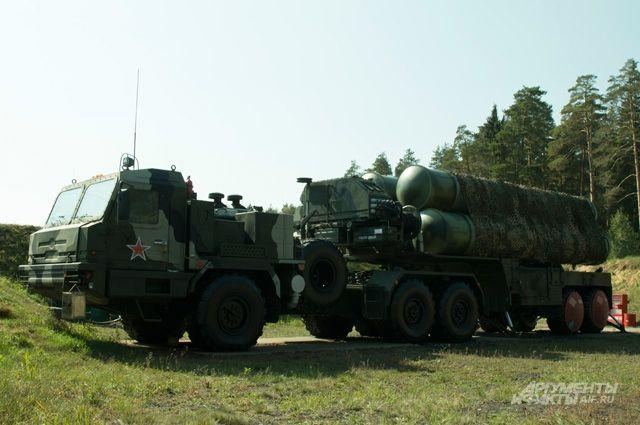 В Крыму на охрану воздушных границ заступил третий дивизион С-400 «Триумф»