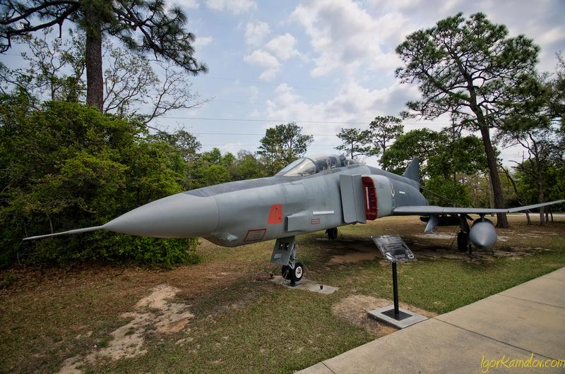 ВВС Вооружение музей, Outside Экспонаты