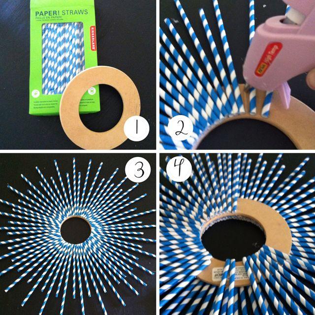 Что можно сделать из пластиковых трубочек своими руками