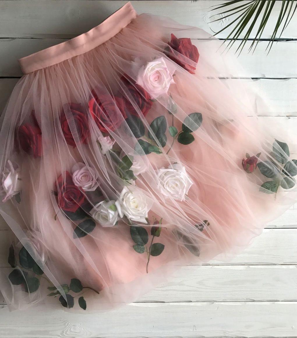 fb8b0eb3129d735 Стильная юбка к Новому году. Необычные и очень красивые идеи ...