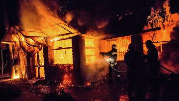 Крупный пожар произошел в исправительной колонии Донецкой области