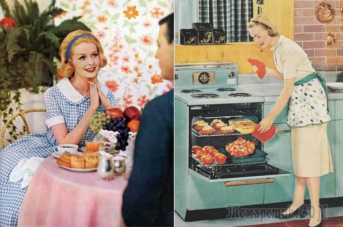 13 правил хорошей жены, которым следовали домохозяйки 50-х годов