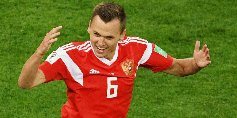 Черешев назван лучшим игроком матча сборных России и Египта