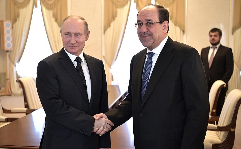 Встреча с Вице-президентом Ирака Нури аль-Малики