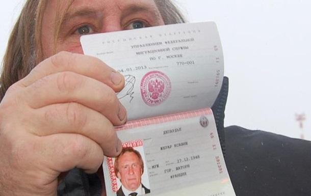 Жерар Депардье проголосовал в Париже на выборах президента России