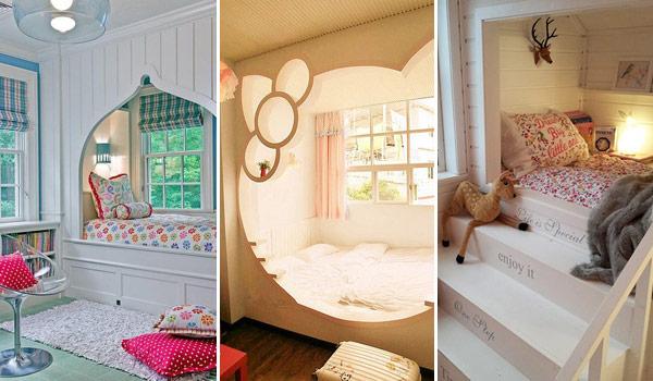 Очаровательный дизайн кроватей в алькове, которые добавят уюта в комнату
