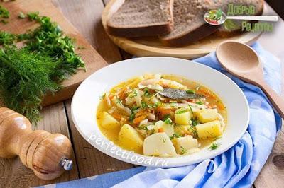 Капустняк — капустный суп с пшеном