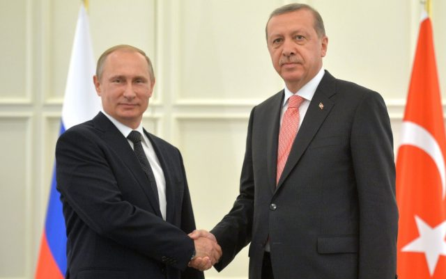 Путин поблагодарил Эрдогана …