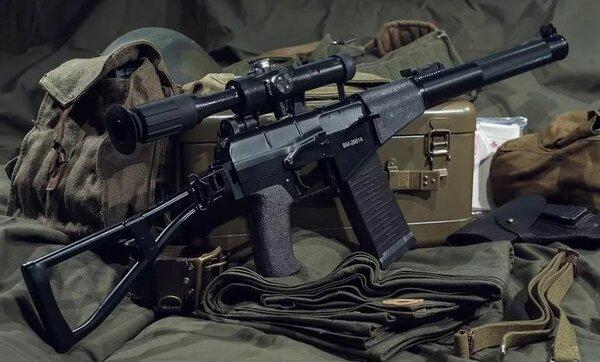 Автомат «Вал» и снайперская винтовка «Винторез»