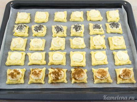 Двойное творожное печенье — 12 шаг