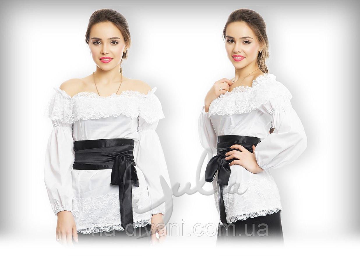 Блузка Крестьянка