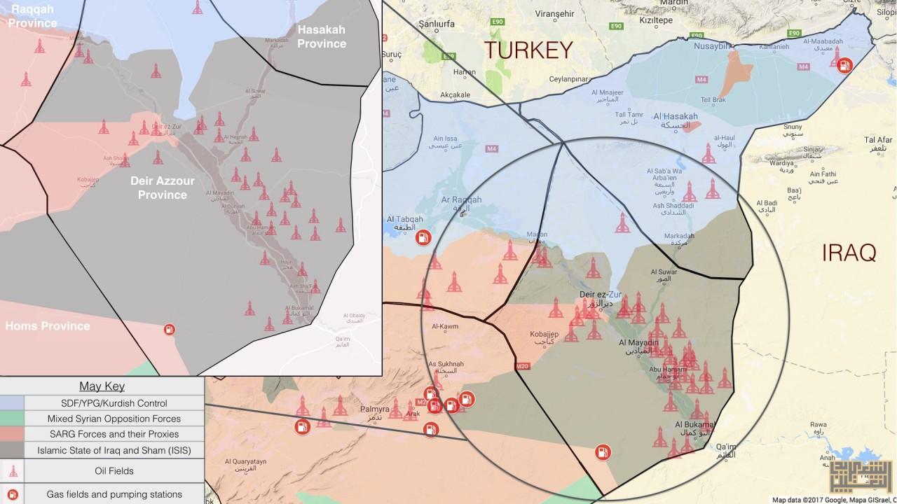 Гонка за сирийской нефтью