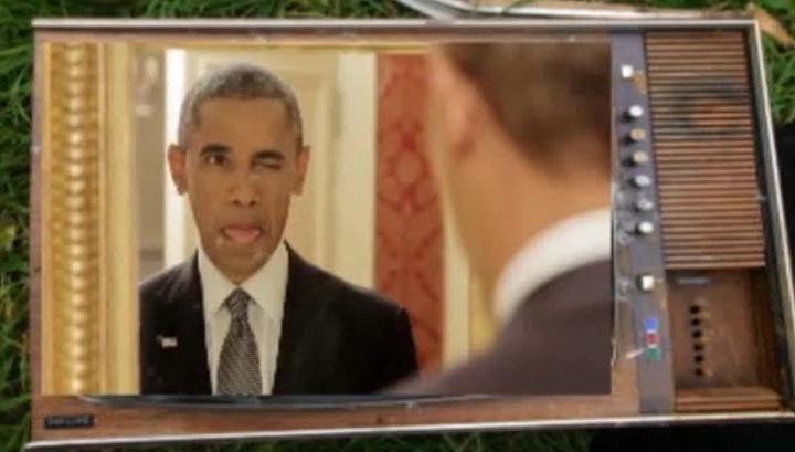 Гримасничающий Обама стал звездой YouTube