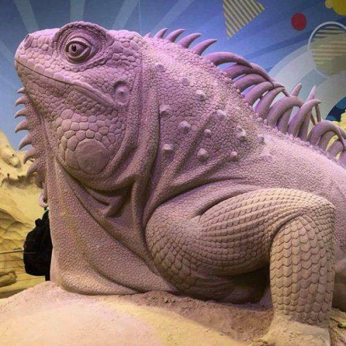 Невероятные песочные скульптуры