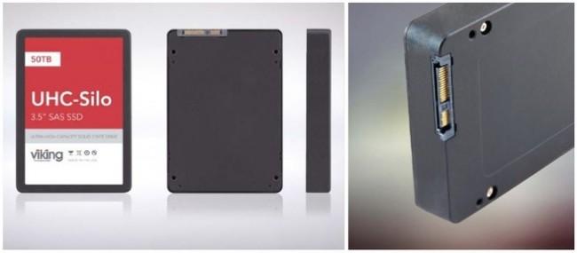 Выпущены твердотельные SSD-накопители UHC Silo емкостью 25 и 50 Тб