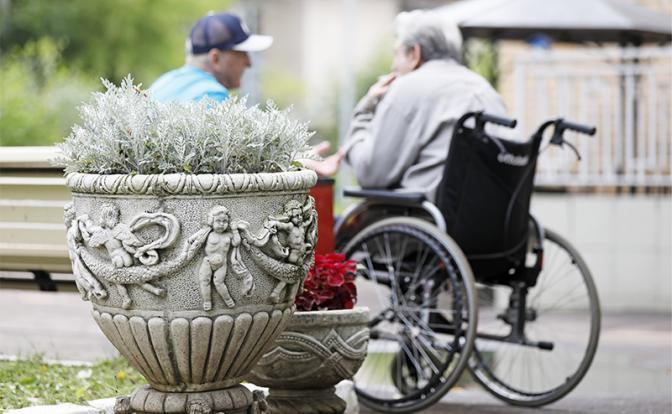 Пенсионная реформа: Власть перекрывает старикам доступ в дома престарелых