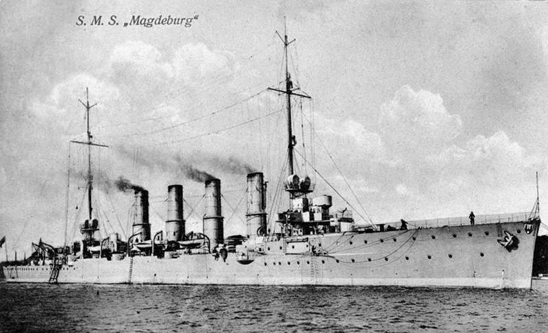 """Тайна крейсера """"Магдебург"""". Германский секретный код"""