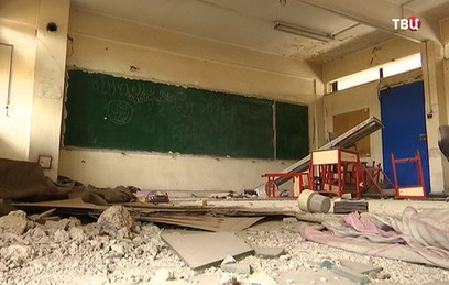 В сирийский Ярмук начали возвращаться мирные жители