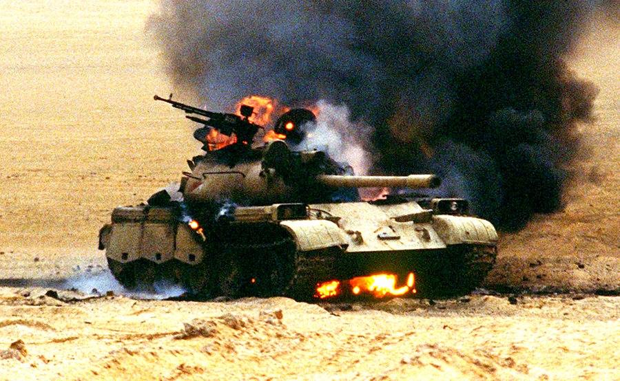 Ад в чёрной пустыне: ВКС и армия Сирии выжигают боевиков