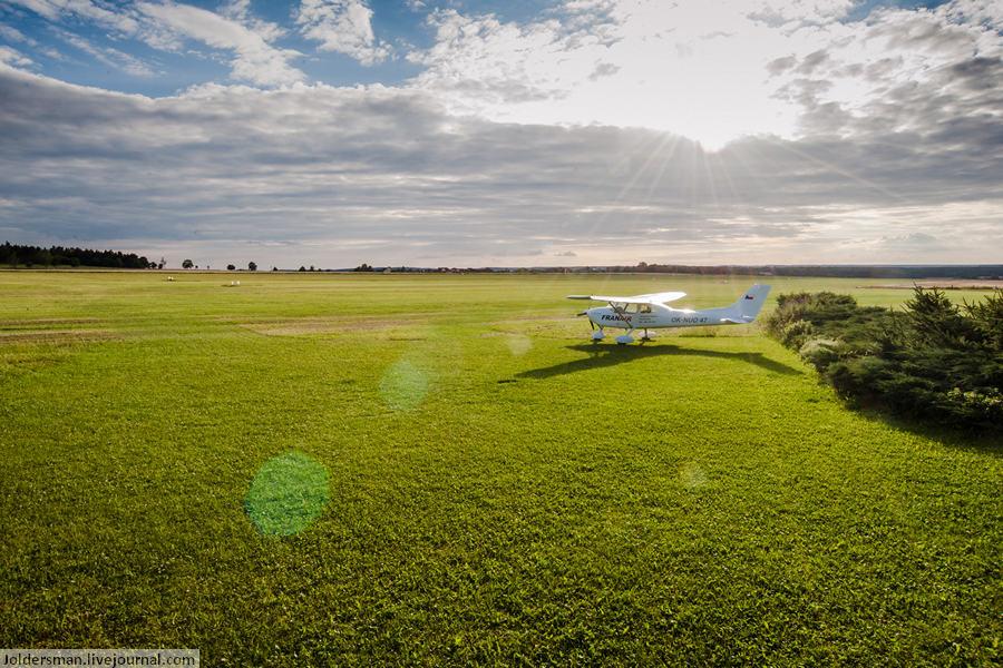 малая авиация в Чехии