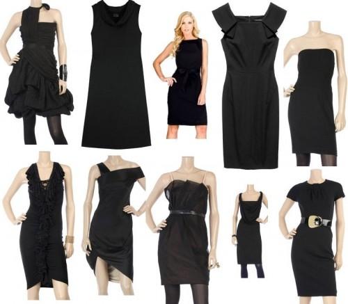 Как самой сшить маленькое черное платье 3