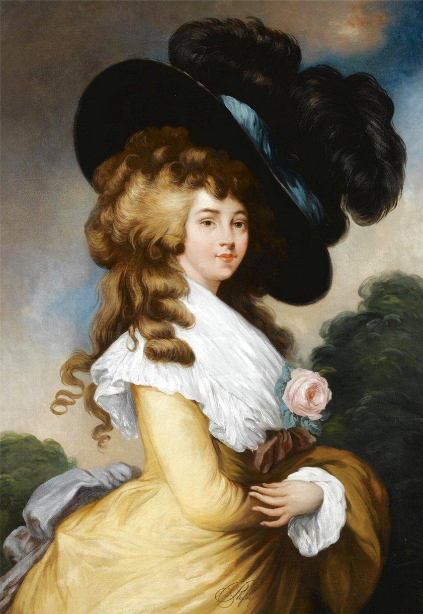 В свое время весь Лондон сплетничал об этой женщине — герцогиня Девонширская