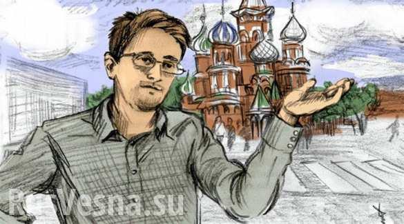 Трамп обожает Путина, — Сноуден   Русская весна