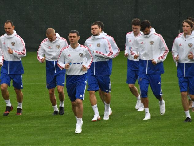 Стал известен стартовый состав сборной России в первом матче мундиаля