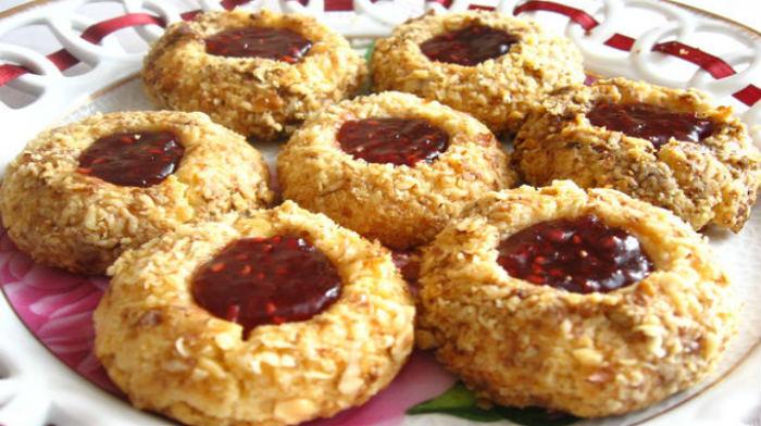 Печенье»Наперсток» из песочного теста