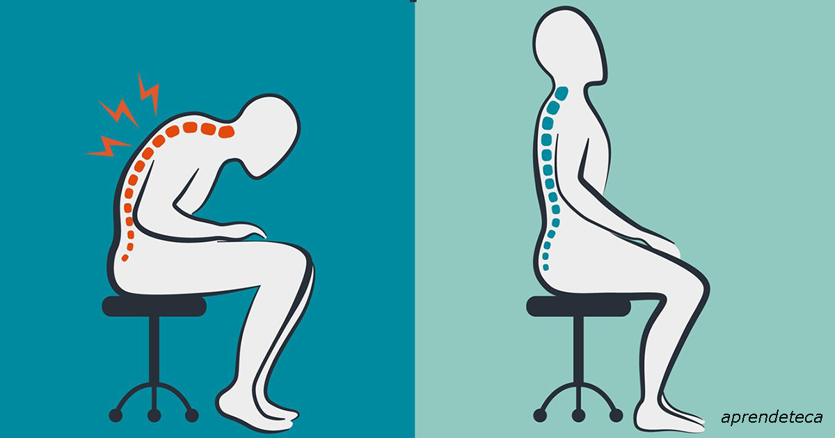 Чтобы боли в спине никогда не было, надо просто правильно сесть