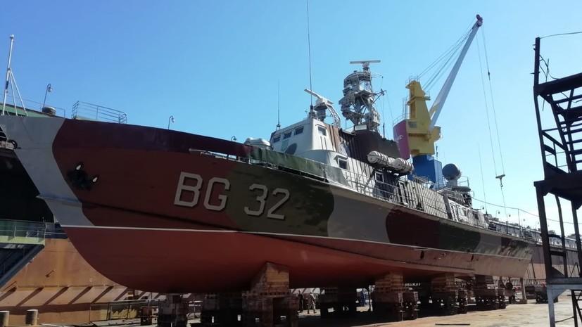 Украина создает новую «головную боль», спуская на воду сторожевой корабль «Донбасс»