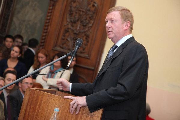 Анатолий Чубайс: Россия обречена на либерализм. Только либеральная экономика — гарант развития страны